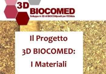 """Seminario """"Il progetto 3D BIOCOMED: i materiali"""""""